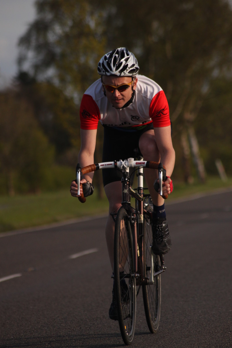 How many calories do you burn cycling?