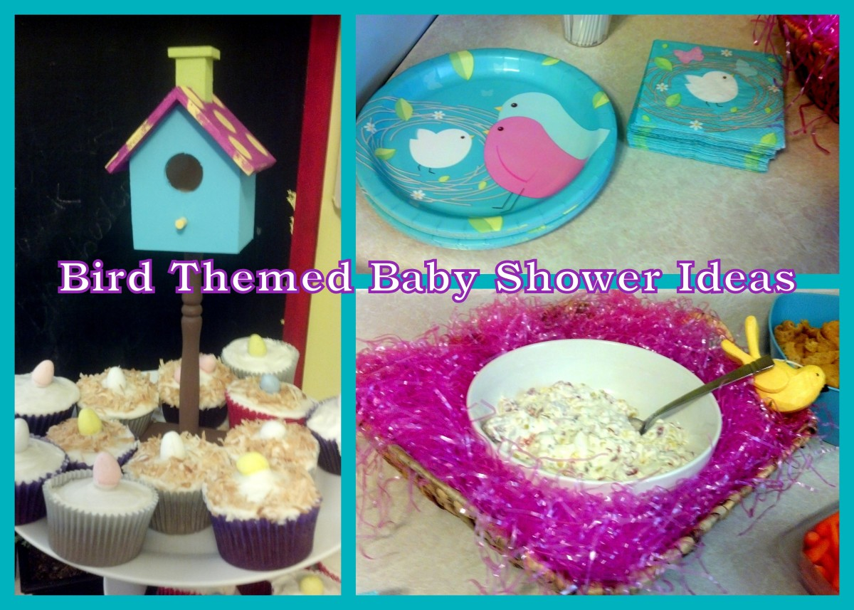 Fun party ideas for a bird themed baby shower!