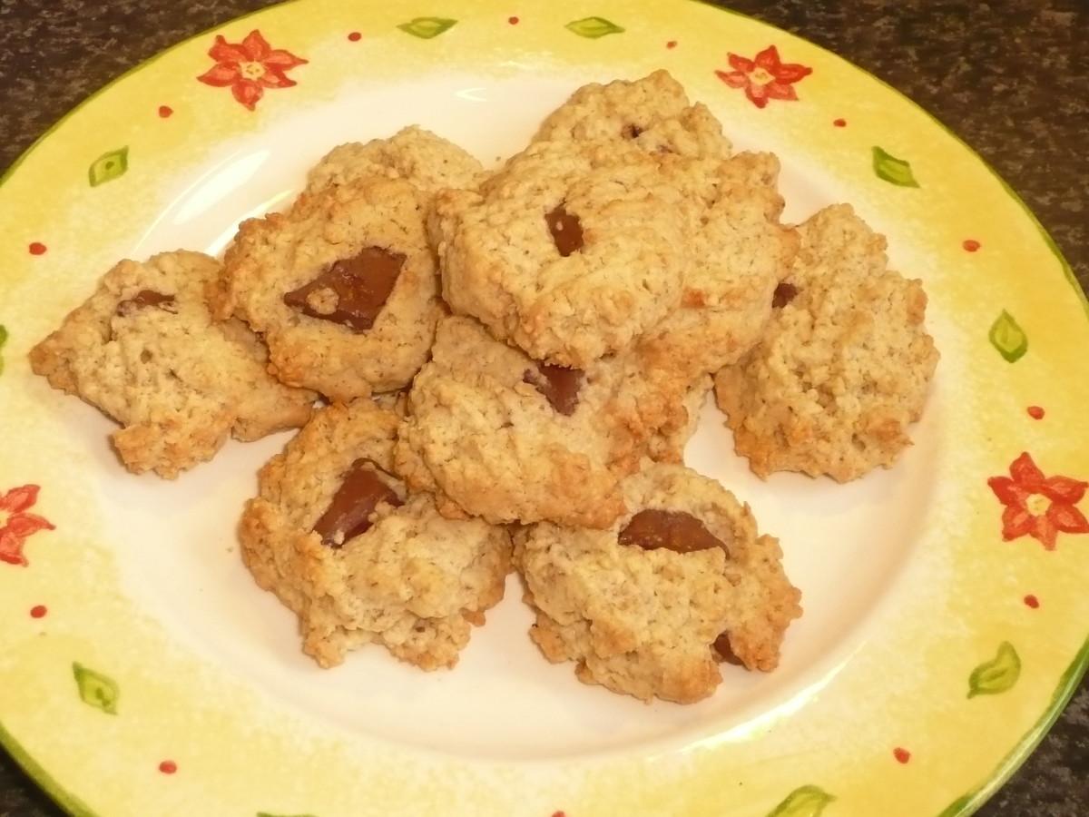 Oatmeal Chocolate Chunk Cookies