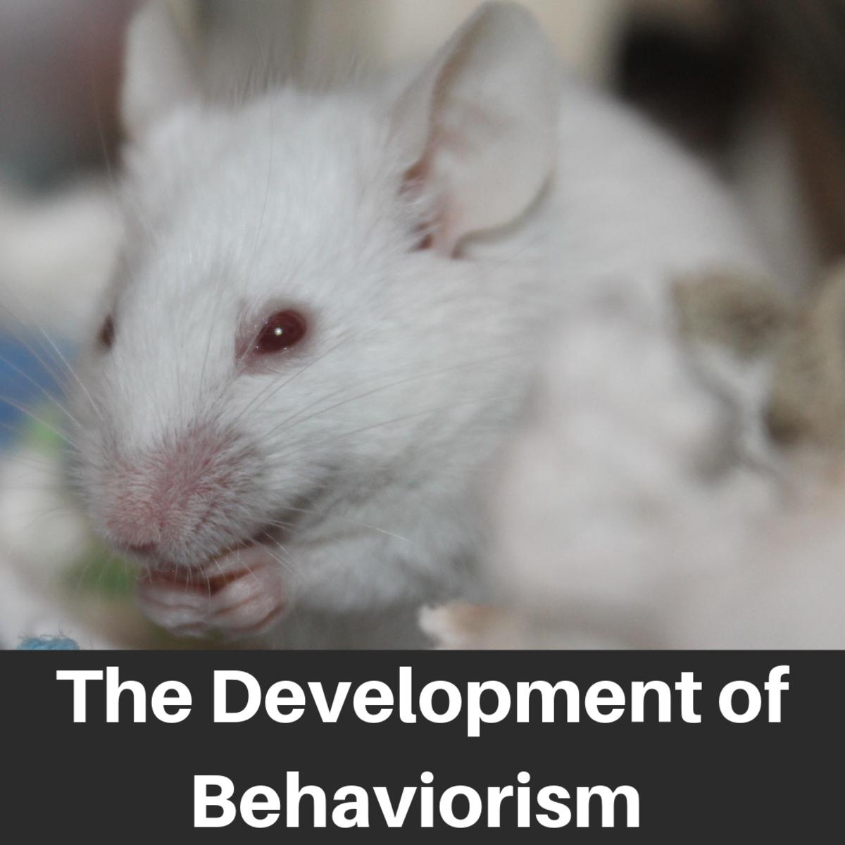 Watson, Pavlov, Thorndike, Skinner and the Development of Behaviorism