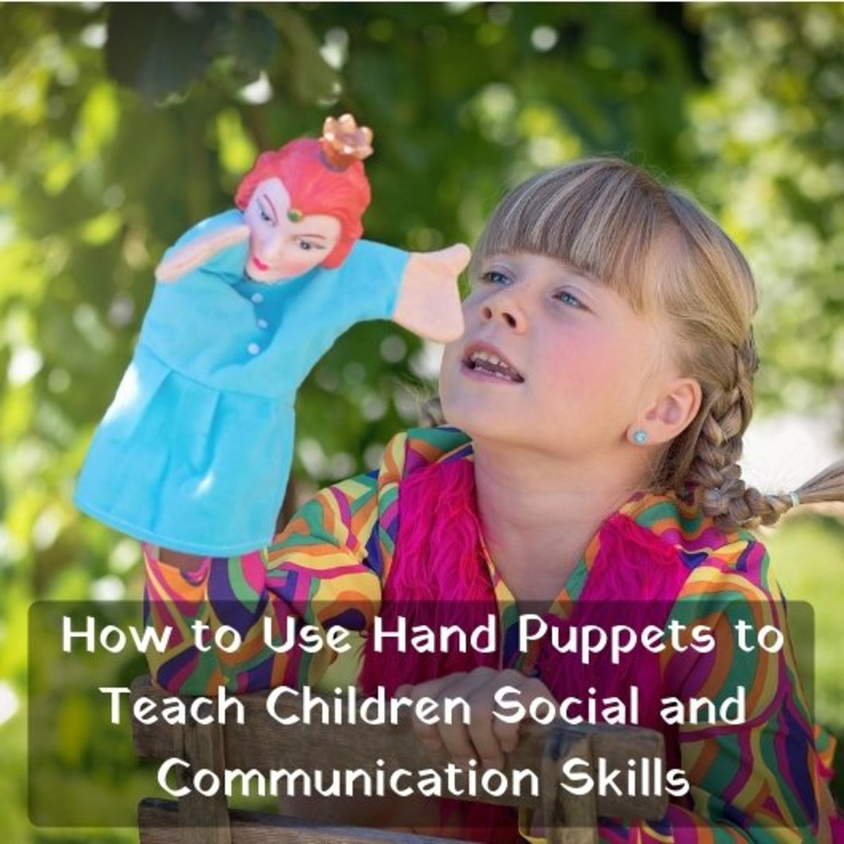Puppets are engaging toys that can help support oral language skills and communication, social/emotional development, and help children learn and understand the world around them through safe, imaginative play.