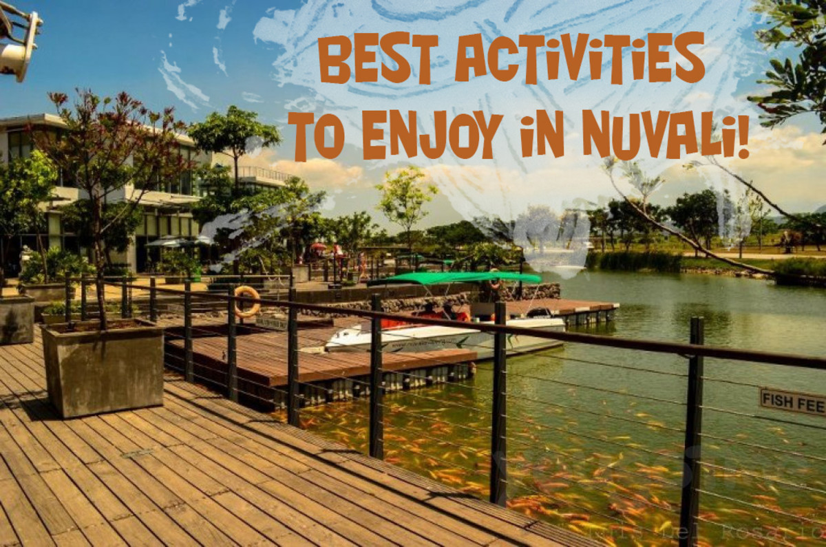 Best Activities You Should Do and Enjoy in Nuvali, Sta. Rosa Laguna