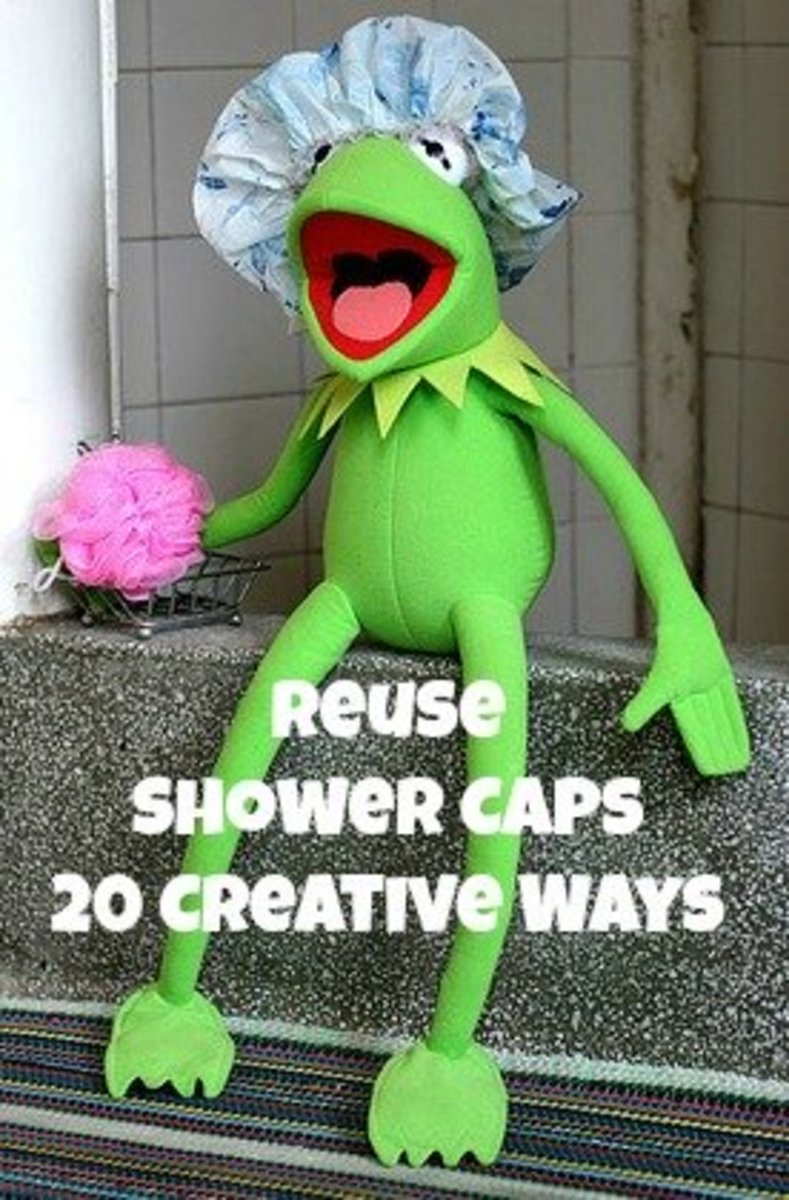 20 Ways You Can Reuse Disposable Shower Caps