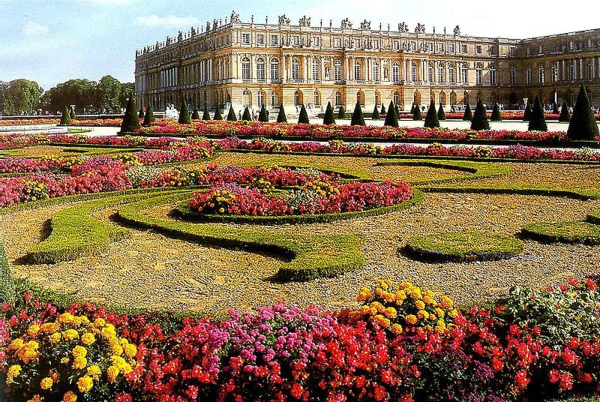 Ordinaire The Parterre Du Midi At Versailles Is A Beautiful Example Of French Garden  Design