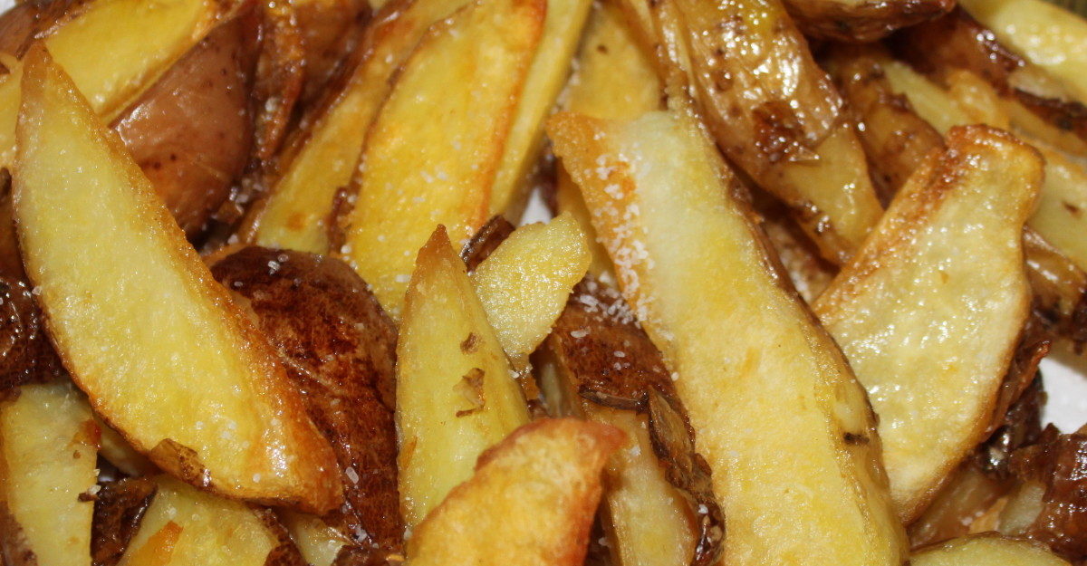 Low-fat chips recipe.