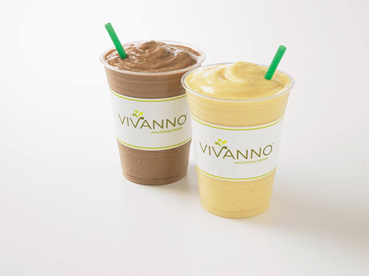 Starbucks smoothies were formerly called Vivanno smoothies.