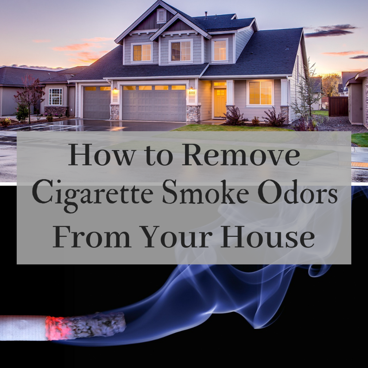 This guide will tell you everything you need to know in order to get those undesirable smoke smells out of your house.