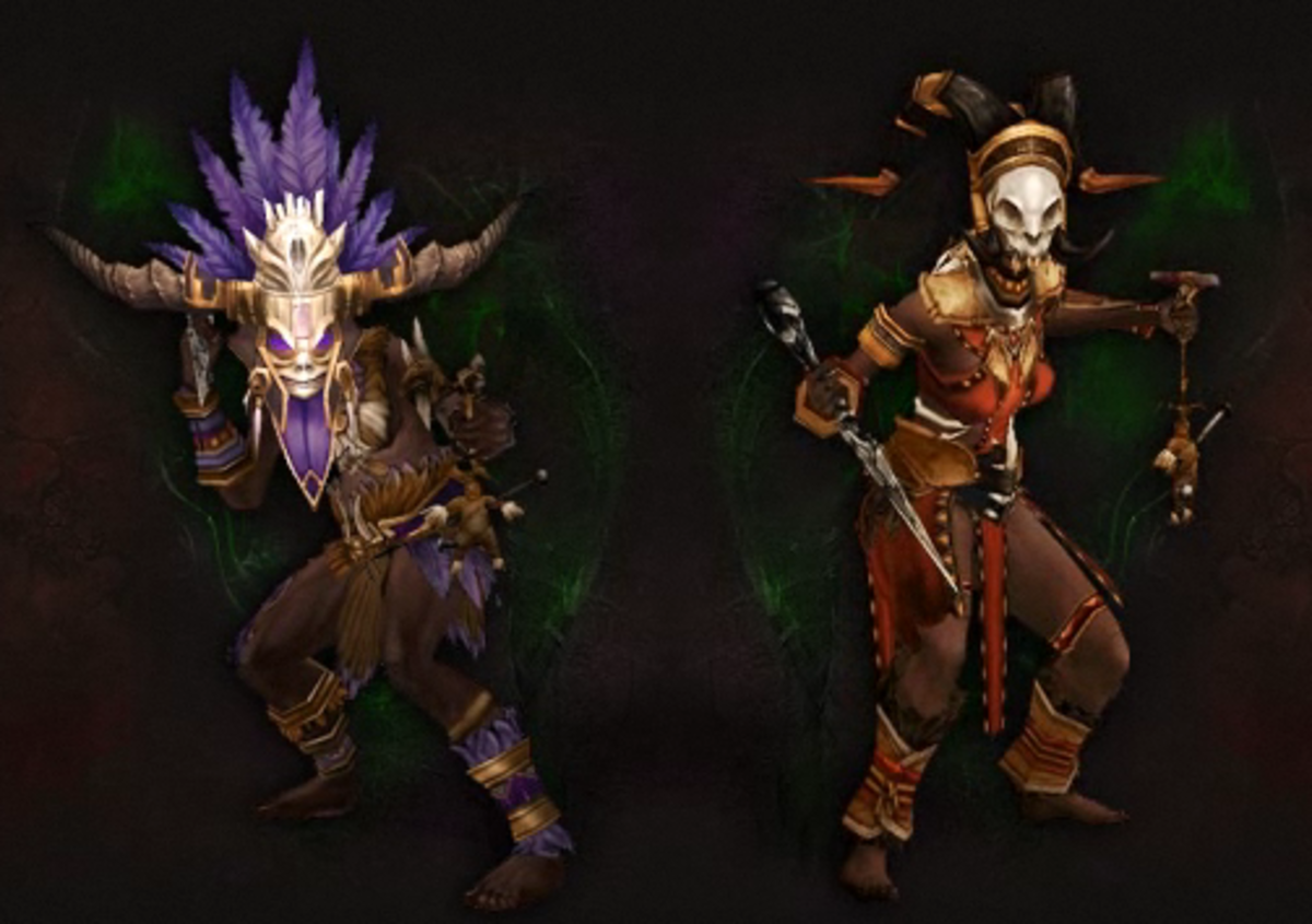 """Diablo 3: Reaper of Souls"" Witch Doctor Class: Achievements Guide"