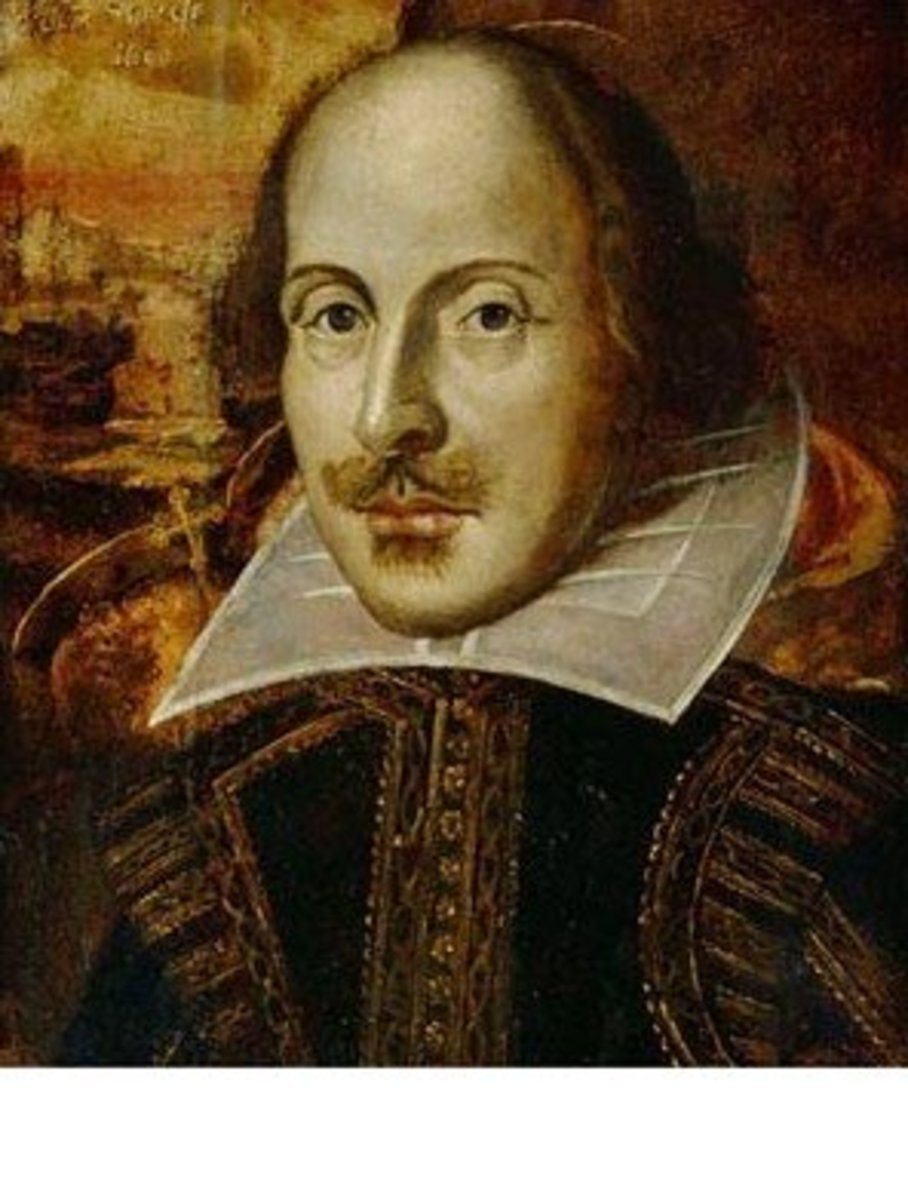 Shakespeare by Droeshout c1815