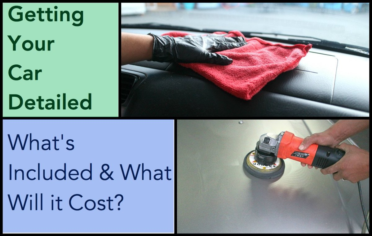 From waxing to vacuuming out the interior, an average car detailing costs about $149 and should make your car look as good as new.