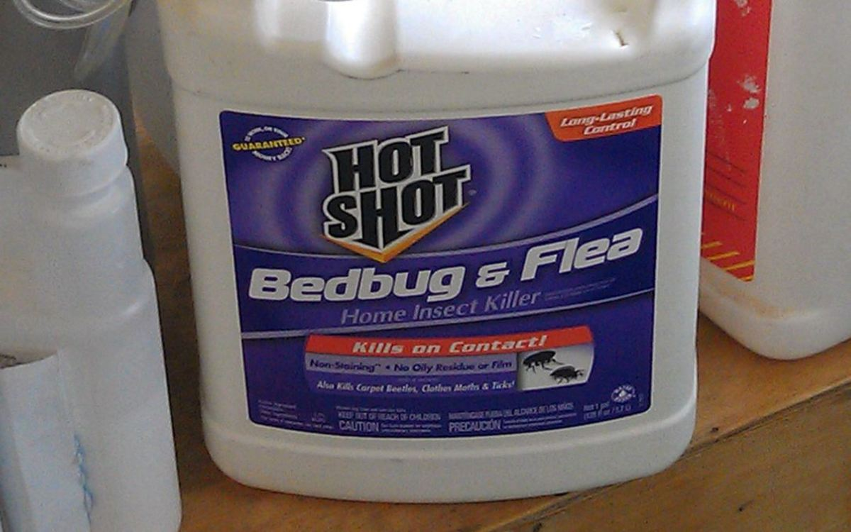 Hot Shot Bedbug and Flea Spray Review