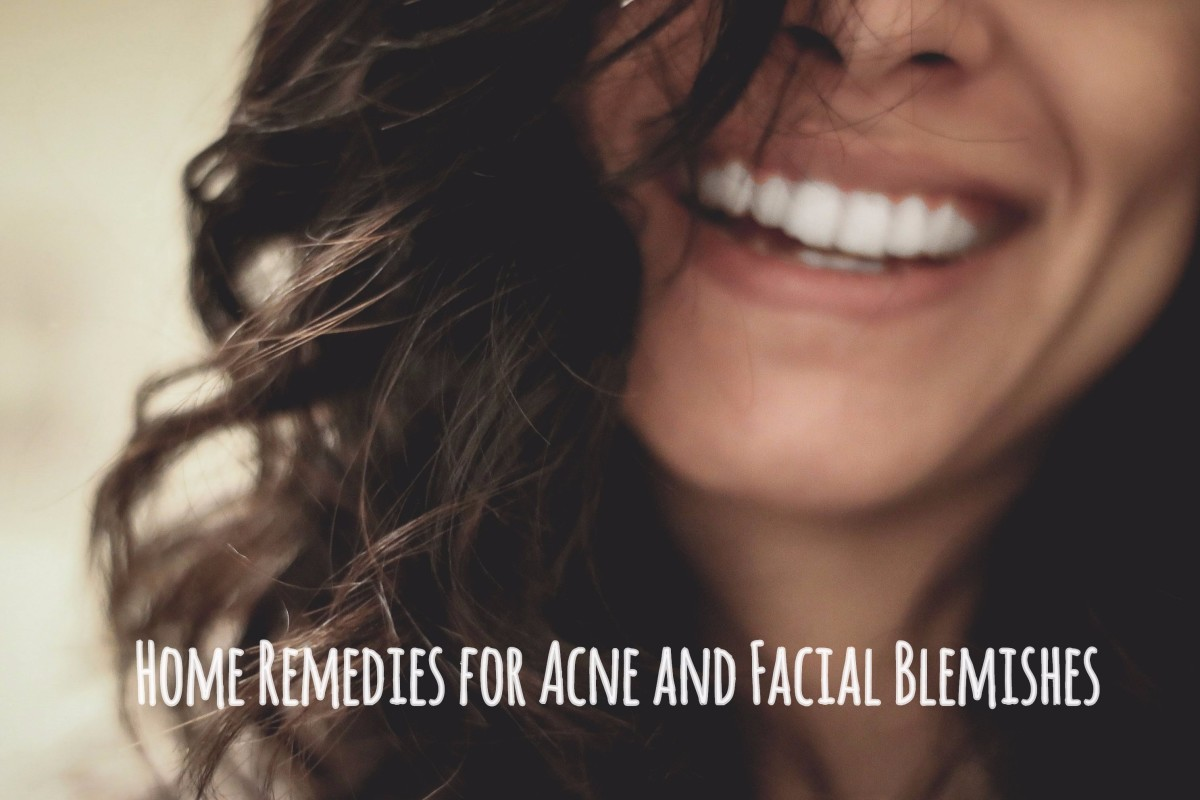 Home remedies can help reduce or remove blemishes on the face.