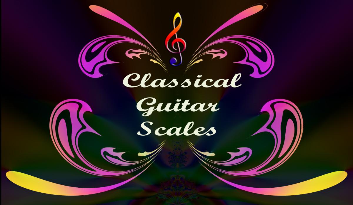 Classical Guitar Scale Patterns