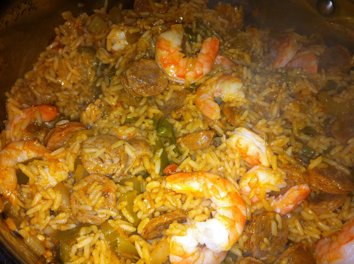 Jambalaya Using ZATARAIN'S with Shrimp and Sausage Recipe