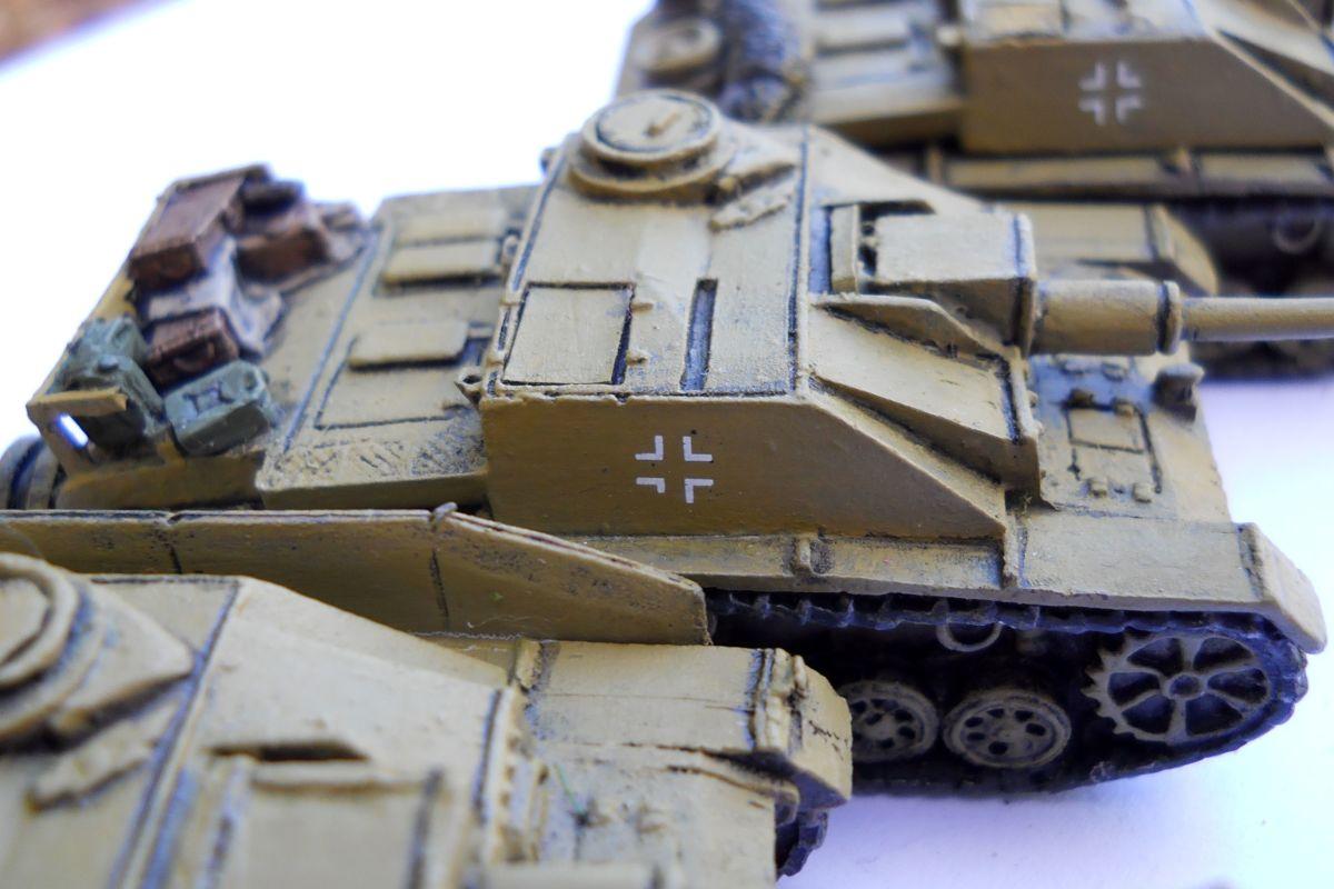 Historic vehicles - Flames of War Stugs