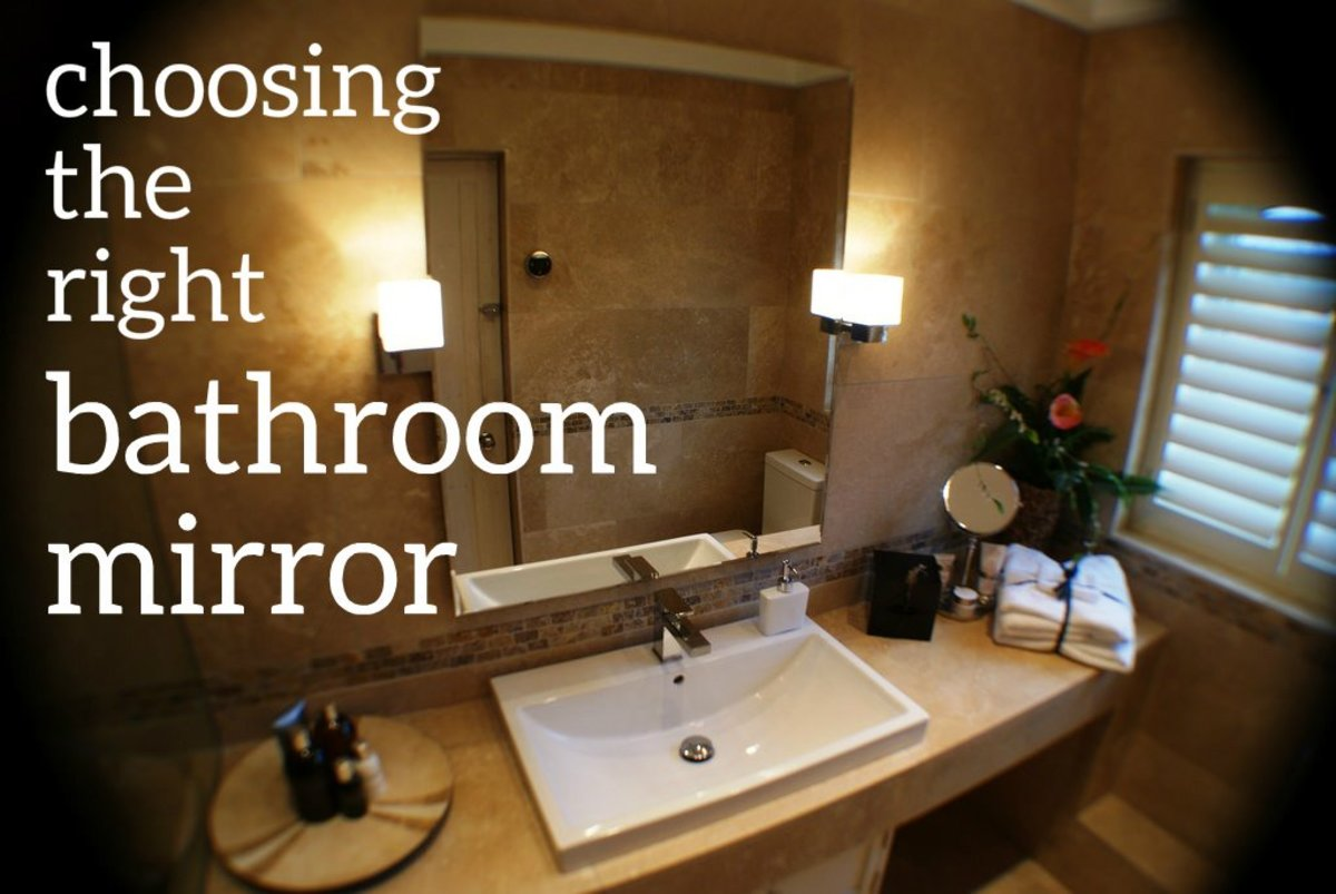 Sizing The Mirror Above Your Bathroom Vanity Dengarden - Mirror size for 30 inch vanity