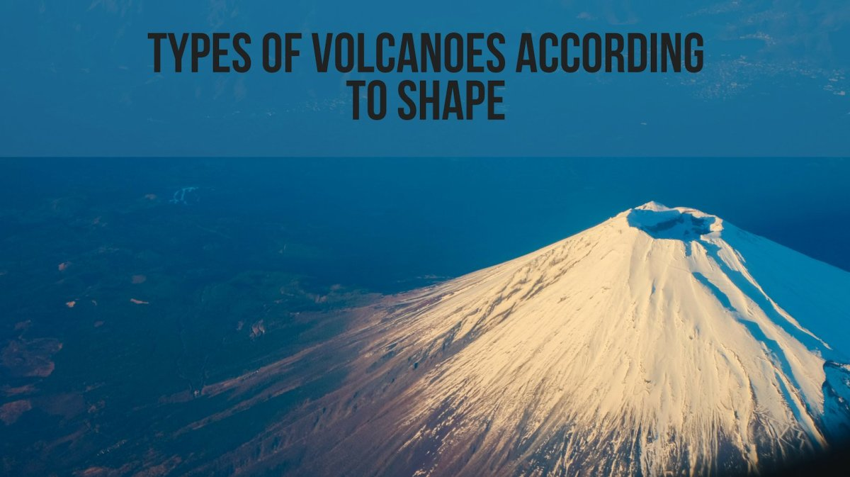 Learn about the four different types of volcanoes (composite, shield, cinder cone, and lava dome).