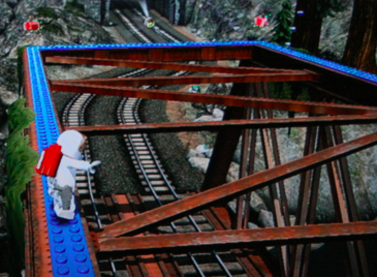 LEGO City Undercover walkthrough: Train Station Locations