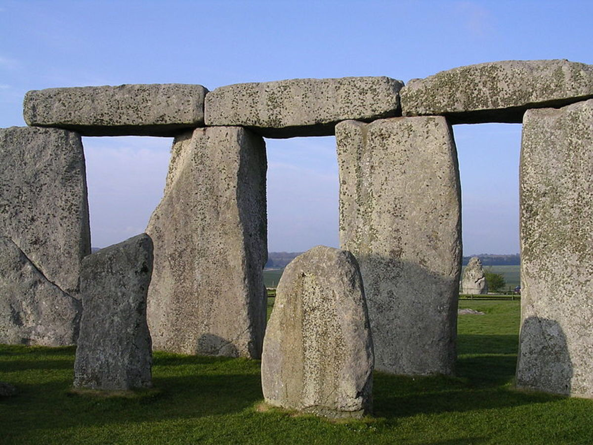 Stonehenge, in Wiltshire, England, is the most famous of all of the prehistoric monuments that are currently known to man - but it isn't the only one.