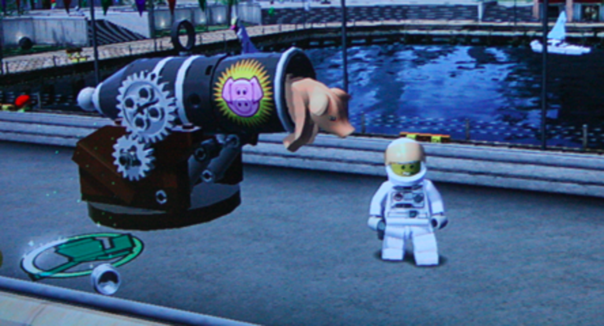 """LEGO City Undercover"" Walkthrough: Uptown Collectibles"