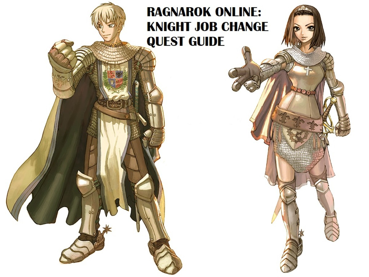 Ragnarok Online Knight Job Change Quest Guide