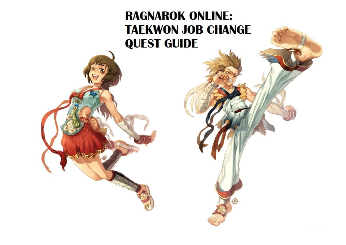Ragnarok Online: Taekwon Job Change Quest Guide