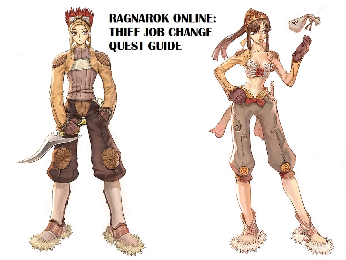 Ragnarok Online Thief Job Change Quest Guide