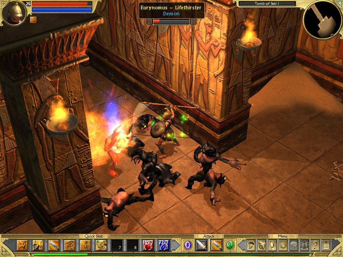 Titan Quest - Best of the Diablo Clones?