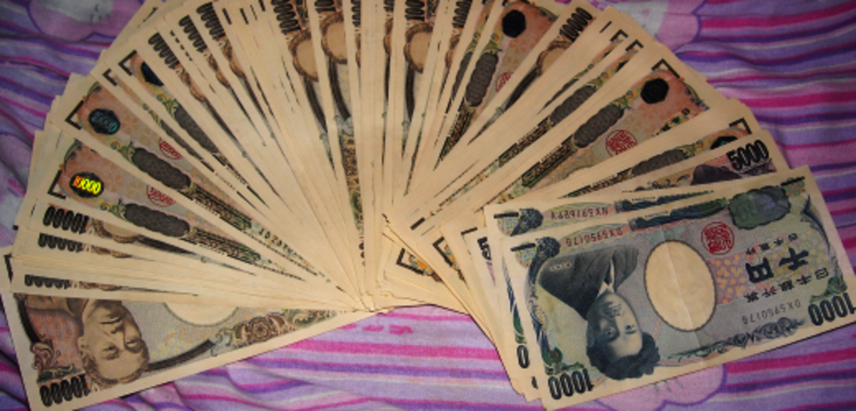 ¥757,000 in banknote cash.
