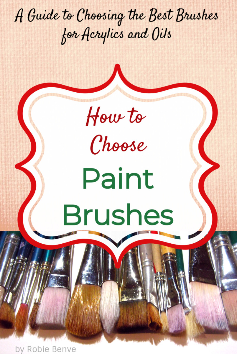 Guide to Choosing the Best Paint Brushes for Acrylics and Oils ...