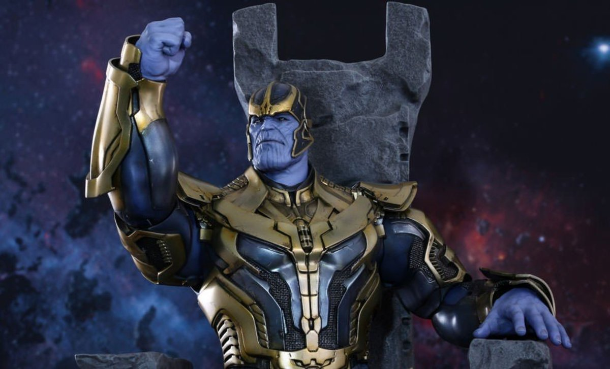 Marvel Villain: Thanos the Titan