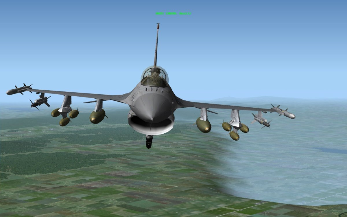 Freefalcon 6 Combat Flight Simulator Review for PC