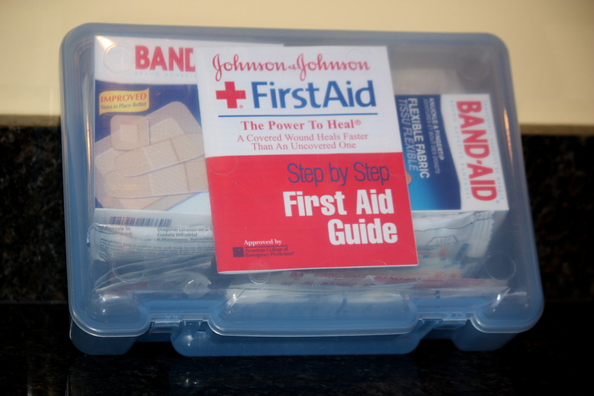 Be prepared for medical emergencies with the proper supplies in your first aid kit.