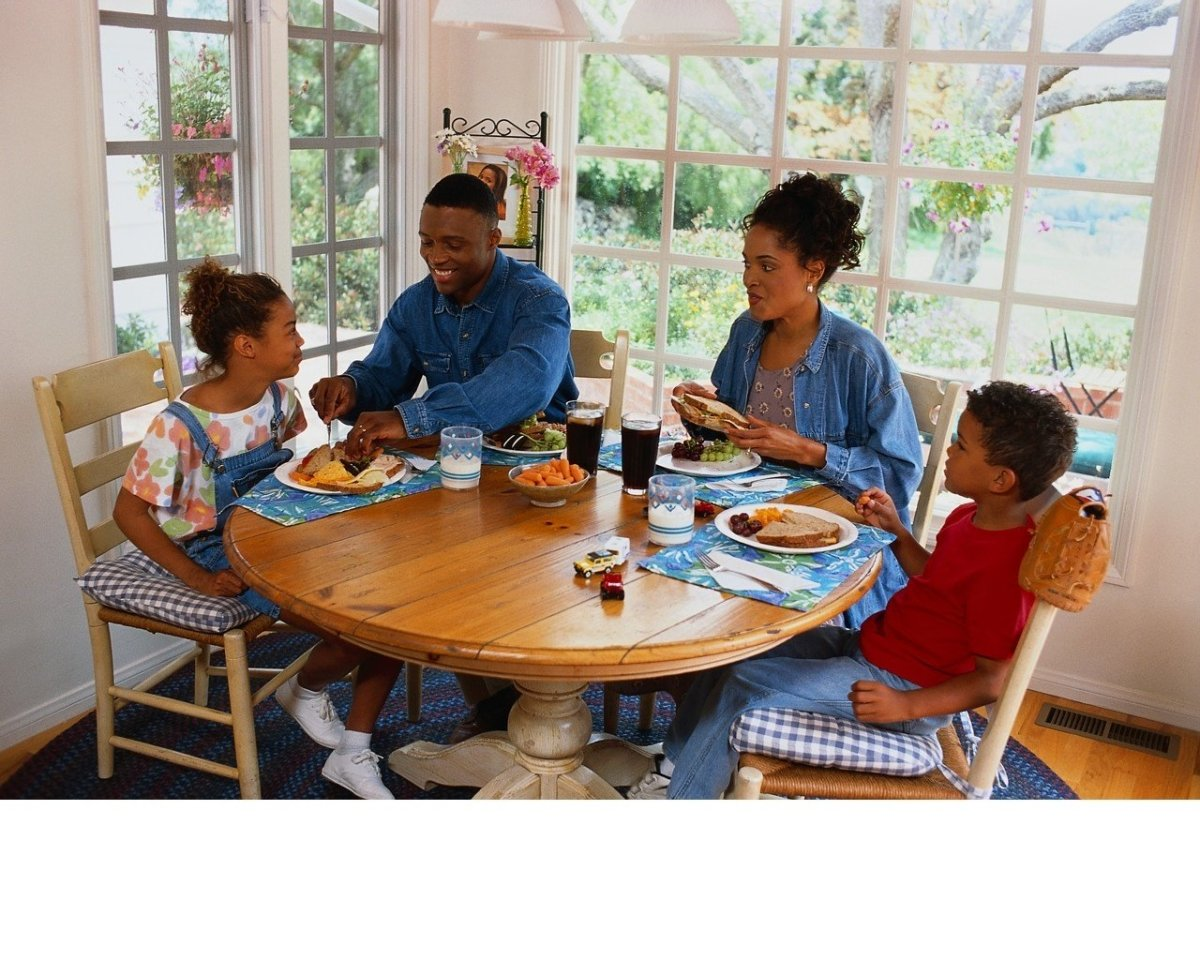 The Family Dinner: Table Manners for Children
