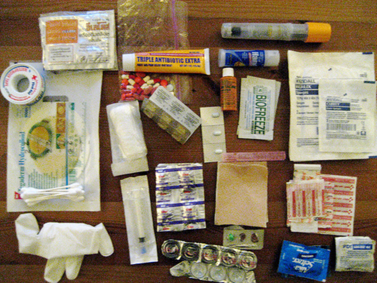 Wilderness First Aid Kit: A Basic Overview