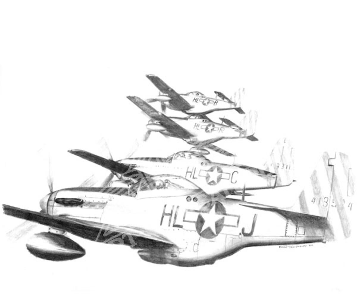 aircraft-weight-p-51-mustang-rivet