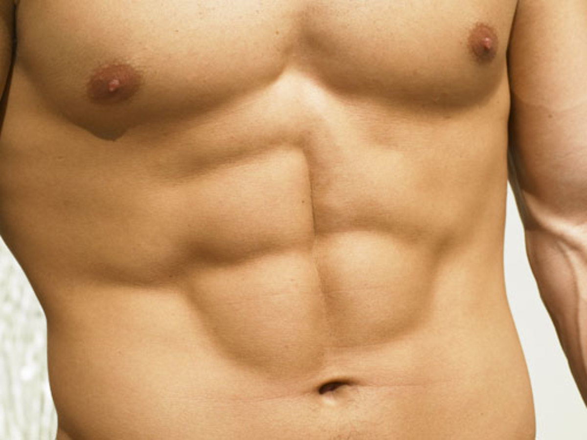 Are you wondering what is the best way to get a six pack like this?