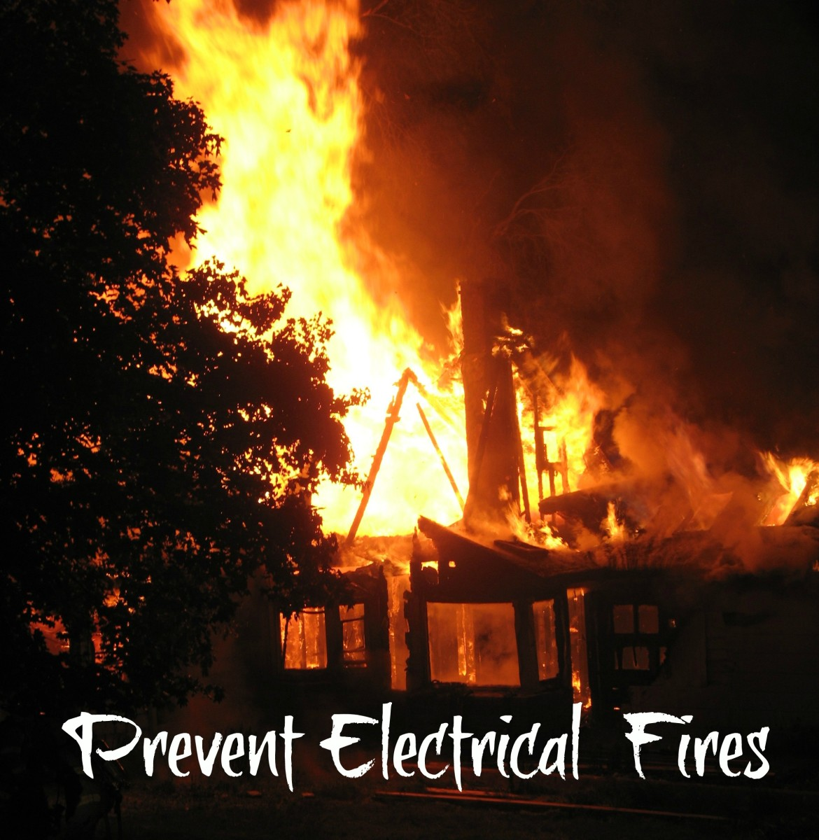 Home electrical fires are preventable, but each year produces thousands of such fires.  Don't let it happen to you, particularly in the Christmas season as cords and lights are strung everywhere.