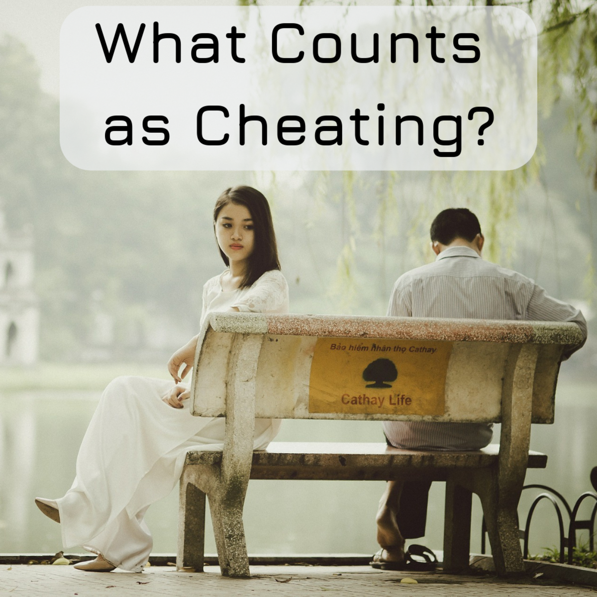 Men and women share different opinions on what is considered cheating in a relationship.