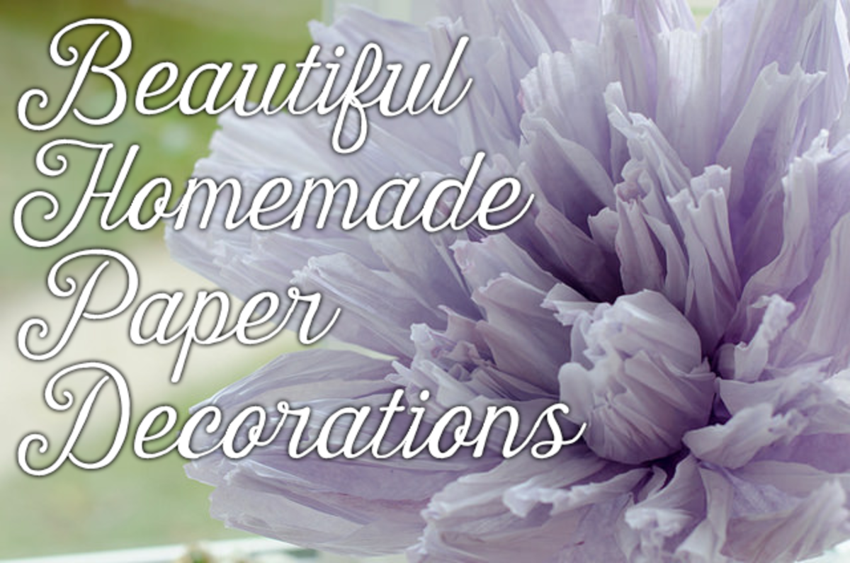 Party Décor on a Budget: 12 Beautiful DIY Paper Decorations