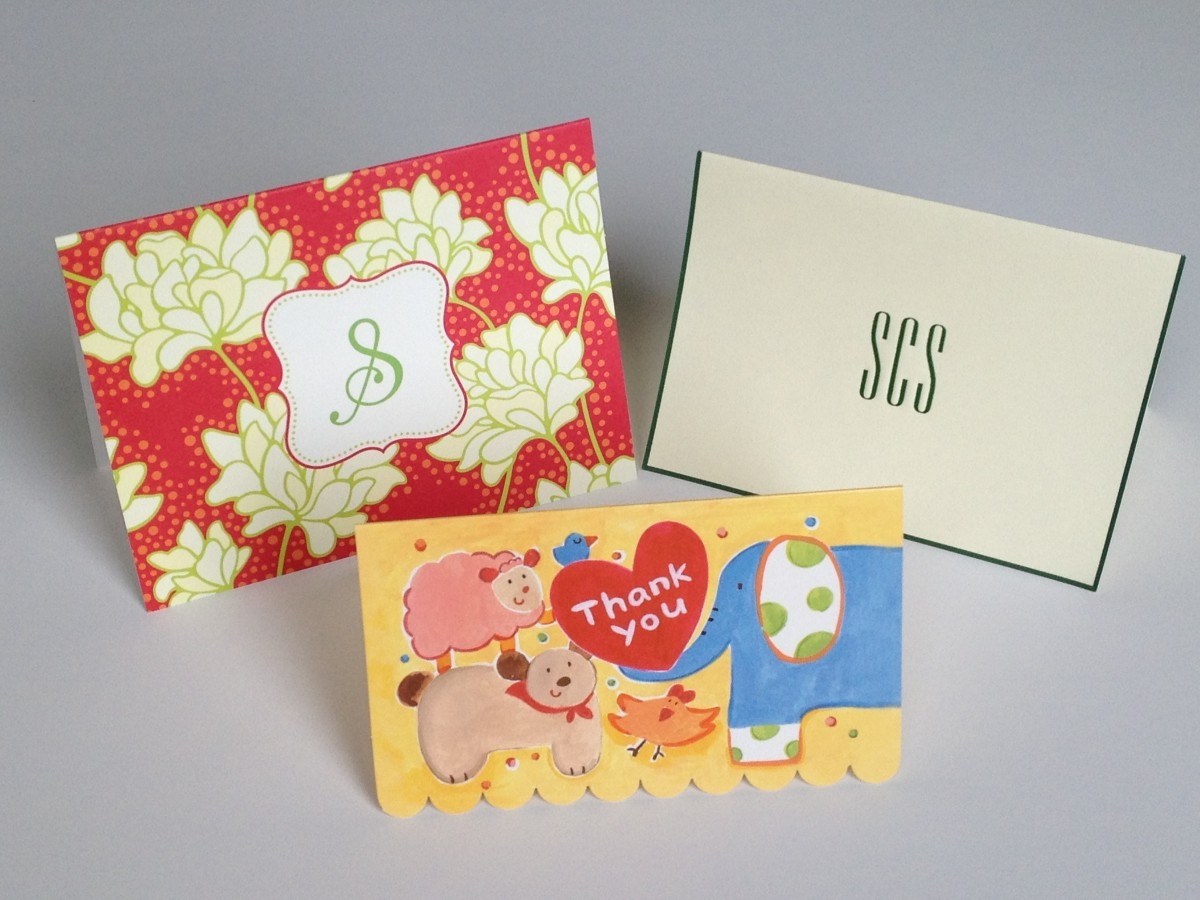 Thank You Notes: Samples and Tips