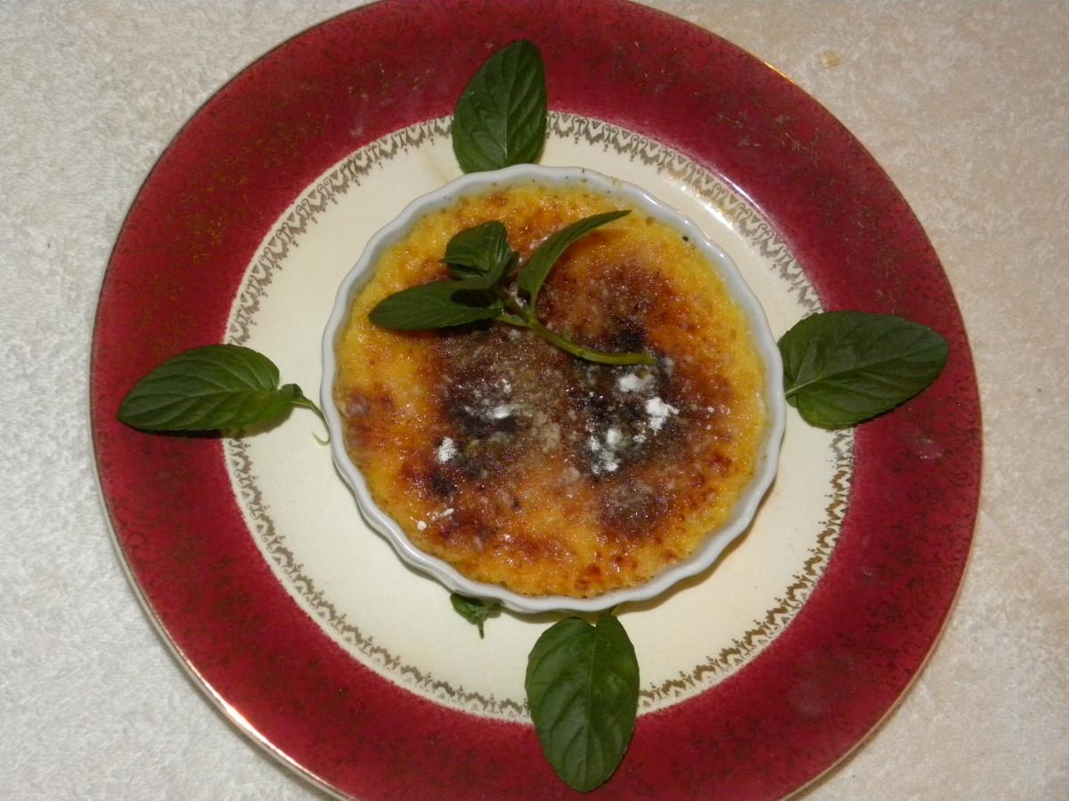 Homemade Crème Brûlée
