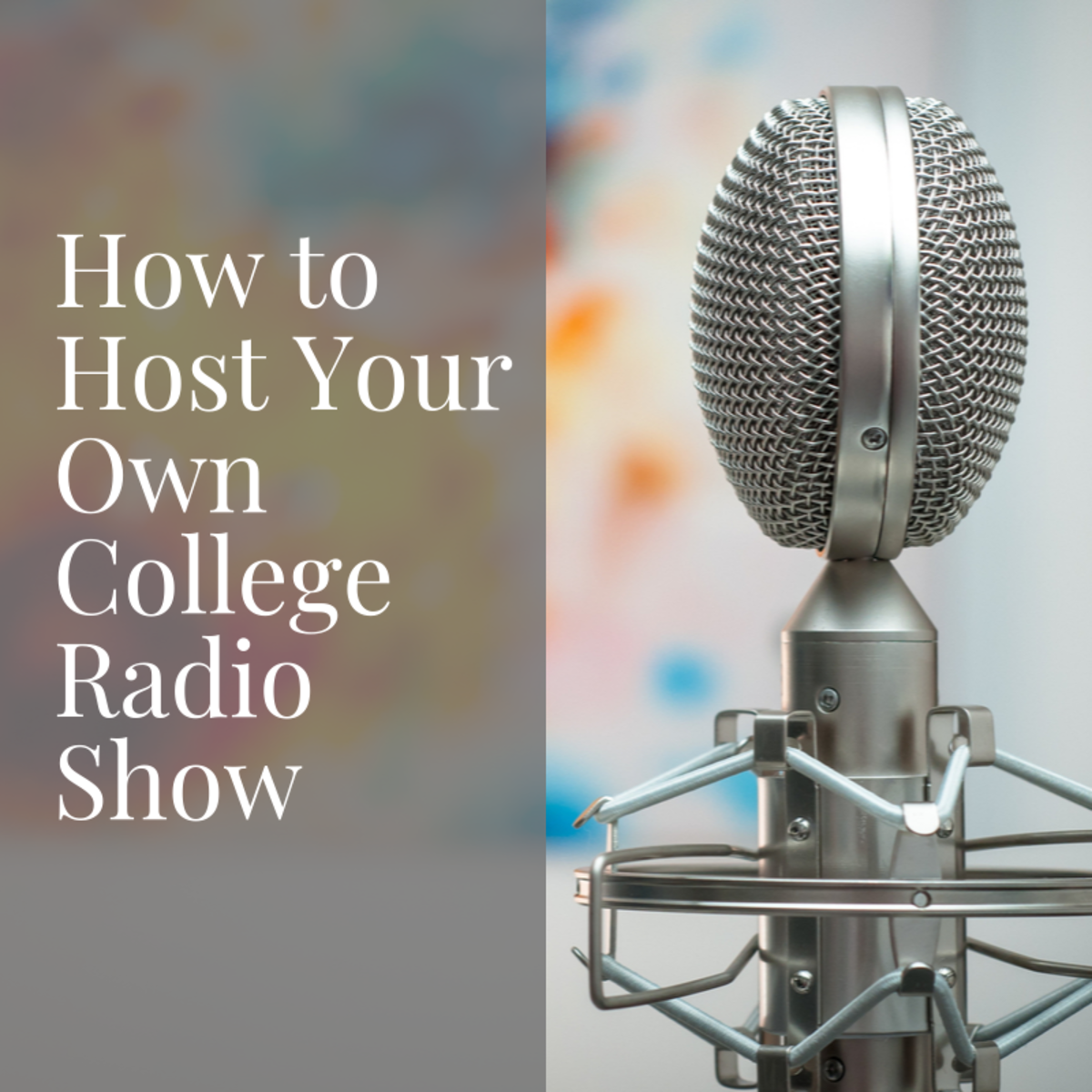 Hosting your own college radio show is fun and rewarding if you do a little show planning and preparation.