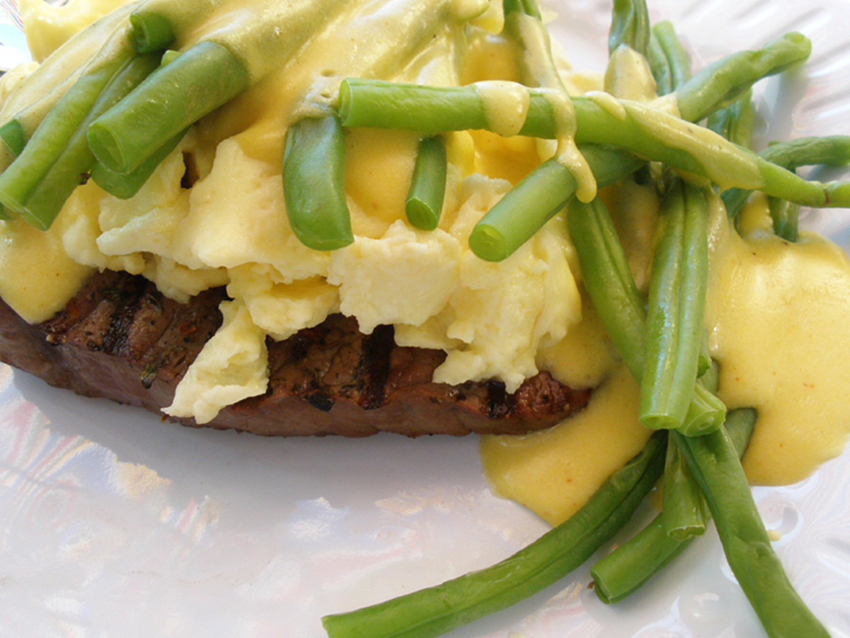 Making a low fat hollandaise sauce is possible.