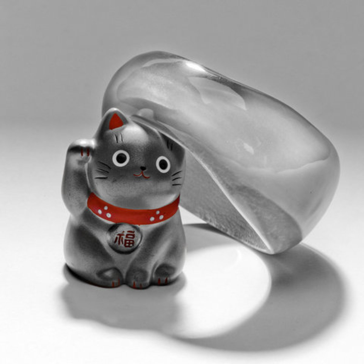 Maneki Neko Fortune Cat Goes West