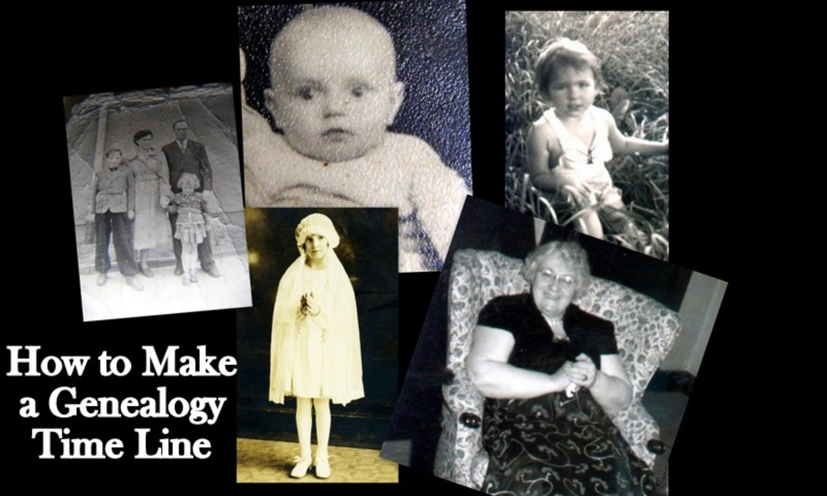 Use a timeline to make sense of your family's memories
