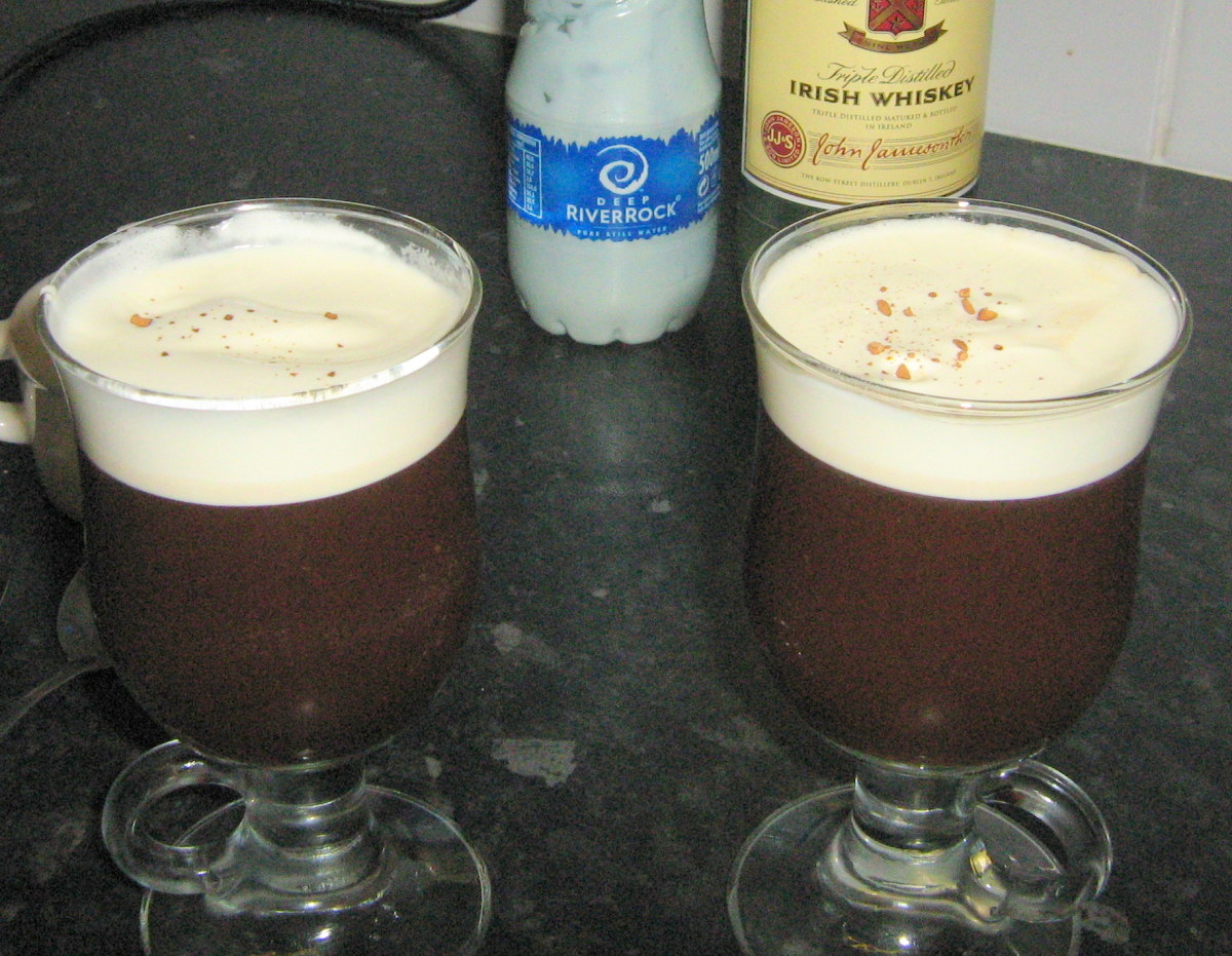 Recipe for Irish Coffee