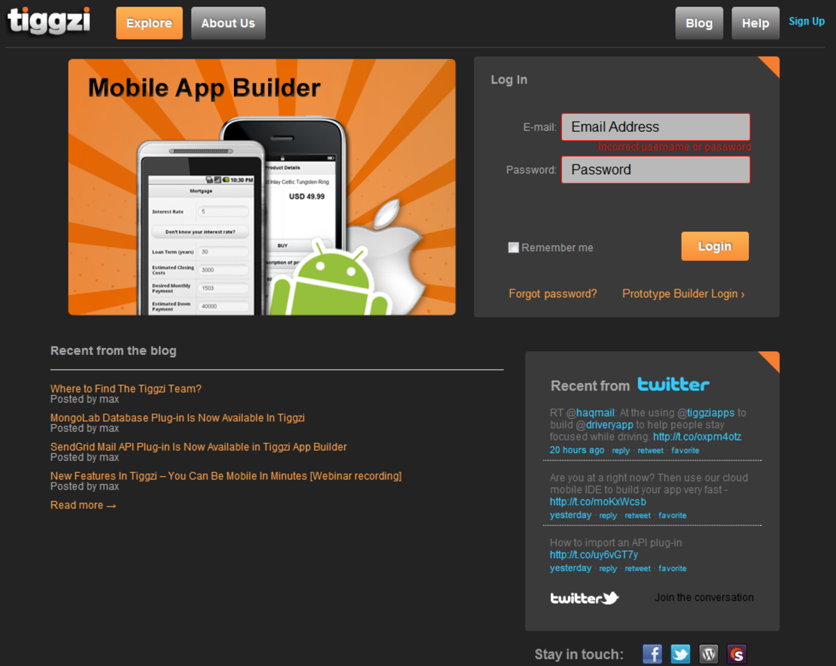 List of Mobile App Builder to Create Apps WYSIWYG