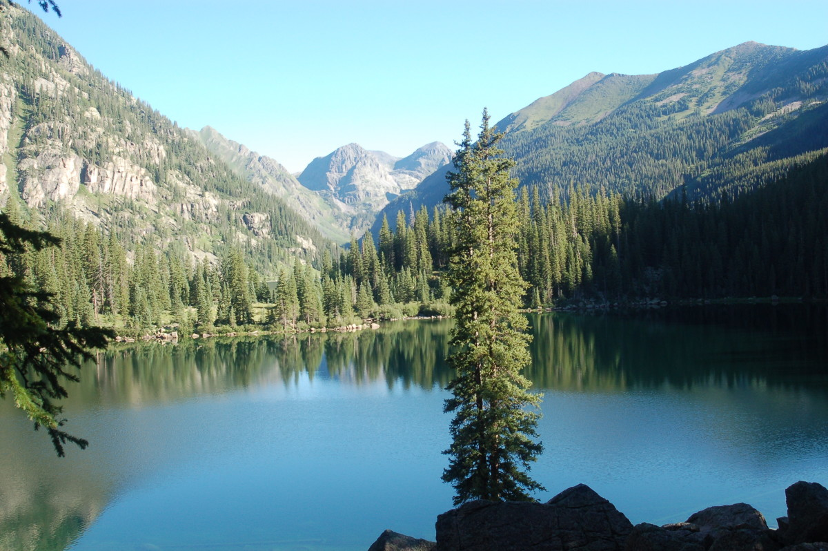 A Three Day Hike to Emerald Lake and Moon Lake in Weminuche Wilderness, Colorado
