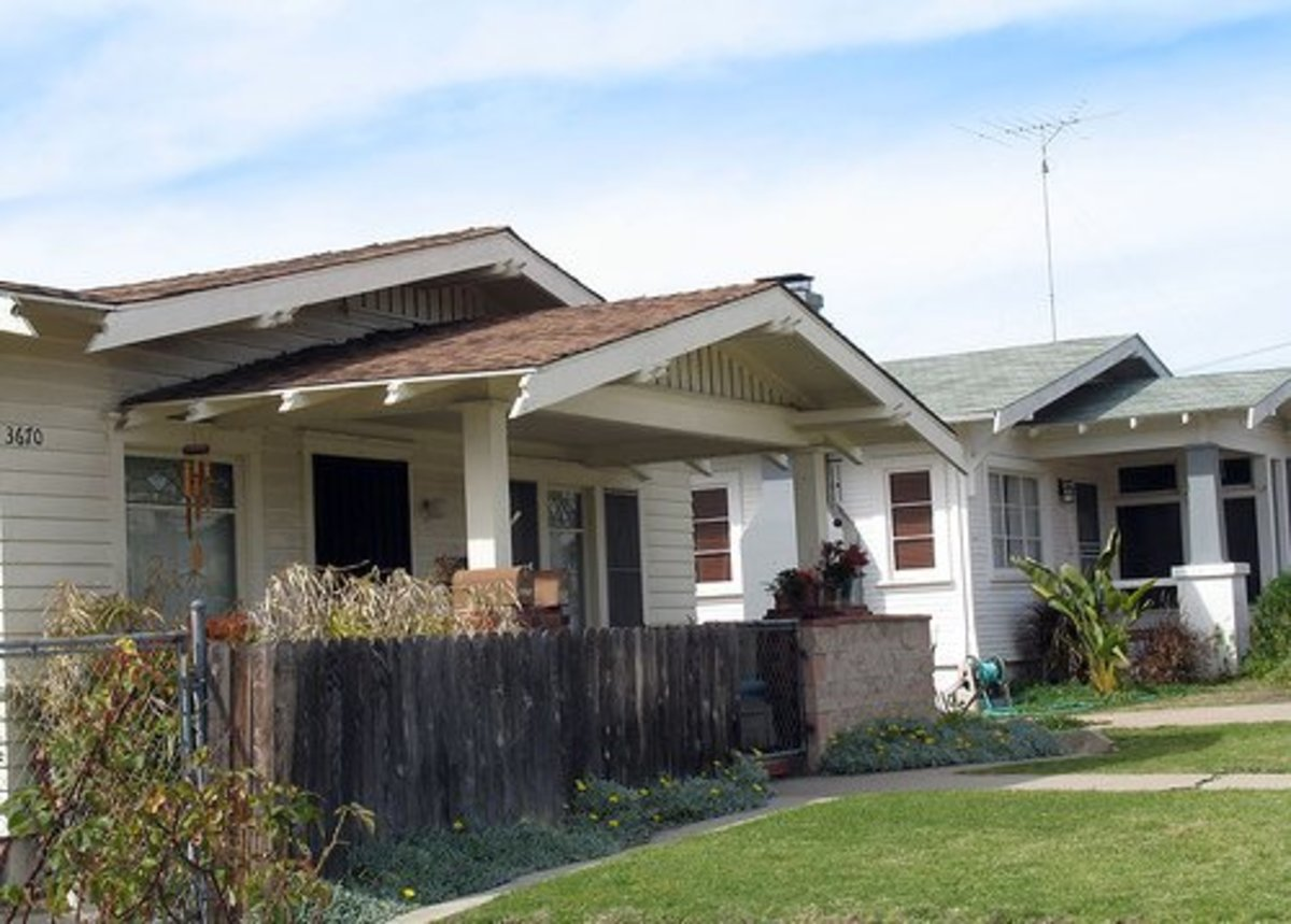The North Park neighborhood of San Diego, California, is known for its many bungalows